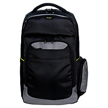 "Buy Targus City Gear Backpack for Laptop up to 15.6"", Black Online at johnlewis.com"