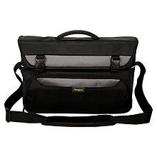 "Buy Targus City Gear Messenger Bag for Laptops between 15-17.3"", Black Online at johnlewis.com"