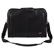 "Buy Targus Executive Topload Messenger Bag for Laptop up to 14"", Black Online at johnlewis.com"