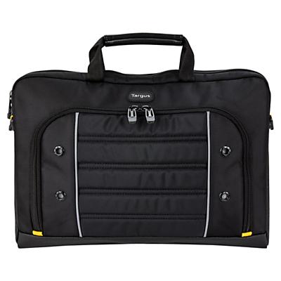 """Image of Targus Drifter Slipcase for Laptops up to 15.6"""", Black/Yellow"""