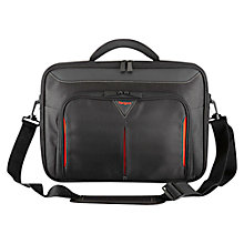 "Buy Targus Classic Clamshell Bag for Laptop up to 15.6""W, Black Online at johnlewis.com"