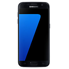 "Buy Samsung Galaxy S7 Smartphone, Android, 5.1"", 4G LTE, SIM Free, 32GB, Black and SanDisk microSDHC Memory Card, 64GB Online at johnlewis.com"