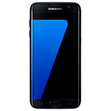 "Buy Samsung Galaxy S7 Edge Smartphone, Android, 5.5"", 4G LTE, SIM Free, 32GB, Black and SanDisk microSDHC Memory Card, 64GB Online at johnlewis.com"