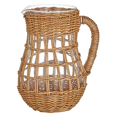 John Lewis Willow Weave Carafe