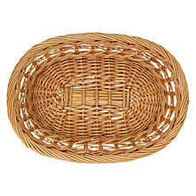 Buy John Lewis Willow Weave Bread Basket Online at johnlewis.com