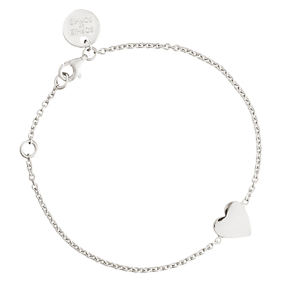 Sophie by Sophie Heart Chain Bracelet
