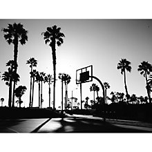 Buy Lola James Harper Santa Monica Playground Unframed Print Online at johnlewis.com