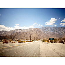 Buy Lola James Harper Palm Spring Mountain Unframed Print Online at johnlewis.com