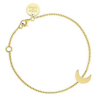 Sophie by Sophie Crescent Moon Chain Bracelet, Gold