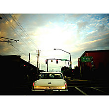 Buy Lola James Harper Portland Dawn Unframed Print Online at johnlewis.com