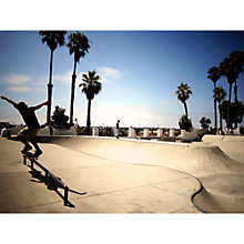 Buy Lola James Harper Skate Board Unframed Print Online at johnlewis.com