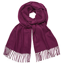 Buy John Lewis Plain Cashmink Scarf Online at johnlewis.com
