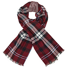 Buy John Lewis Cashmink Double Faced Check Wrap Online at johnlewis.com