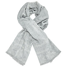 Buy John Lewis Double Faced Ombre Ruana Wrap, Marl Grey Online at johnlewis.com