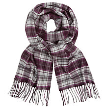 Buy John Lewis Cashmink Classic Check Scarf Online at johnlewis.com
