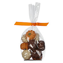 Buy Natalie Bag Of Milk Chocolate Praline Pumpkins, 140g Online at johnlewis.com