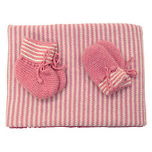 Buy Olivier Baby Cashmere Baby Blanket Gift Set, Pink Online at johnlewis.com