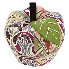 Buy Liberty Apple Pin Cushion, Multi Online at johnlewis.com