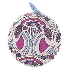 Buy Liberty Mauverina Tana Lawn Tape Measure, 150cm, Pink Online at johnlewis.com