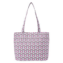 Buy Liberty Mauverina Tana Lawn Sewing Tote Bag, Pink Online at johnlewis.com
