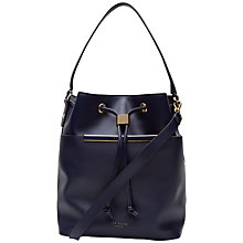 Buy Ted Baker Aldina Leather Bucket Bag Online at johnlewis.com