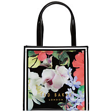 Buy Ted Baker Gecon Small Icon Shopper Bag, Black Online at johnlewis.com