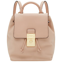 Buy Ted Baker Nahra Leather Backpack Online at johnlewis.com