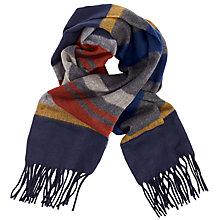 Buy John Lewis Dulwich Horizontal Stripe Cashmink Scarf, Multi Online at johnlewis.com