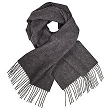 Buy John Lewis Herringbone Wool Scarf Online at johnlewis.com