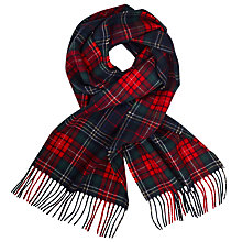 Buy John Lewis Truro Tartan Check Wool Scarf, Multi Online at johnlewis.com