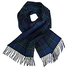 Buy John Lewis Fowley Blackwatch Check Wool Scarf, Multi Online at johnlewis.com