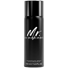 Buy Burberry Mr. Burberry Deodorant Spray, 150ml Online at johnlewis.com
