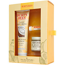 Buy Burt's Bees® Nuts About Nature Gift Set Online at johnlewis.com