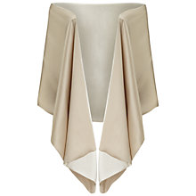 Buy Ariella Liv Satin Crepe Stole, Champagne Online at johnlewis.com