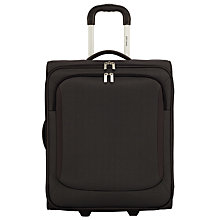 Buy John Lewis Greenwich 2-Wheel 56cm Cabin Suitcase, Graphite Online at johnlewis.com