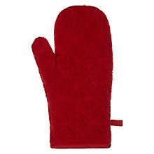 Buy John Lewis Towelling Oven Mitt Online at johnlewis.com