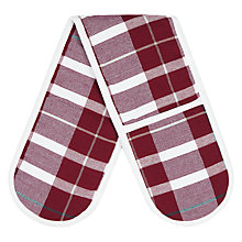 Buy John Lewis Ruskin House Christmas Double Oven Glove Online at johnlewis.com