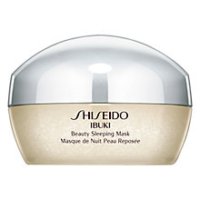 Buy Shiseido Ibuki Beauty Sleeping Mask, 80ml Online at johnlewis.com