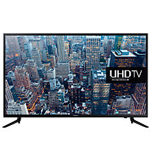 "Buy Samsung UE65JU6000 LED 4K Ultra HD Smart TV, 65"" with Freeview HD and Built-In Wi-Fi Online at johnlewis.com"