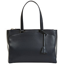 Buy Jaeger City Leather Grab Bag Online at johnlewis.com