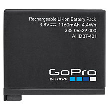 Buy GoPro Camera Battery for HERO4 Online at johnlewis.com