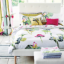 Buy Designers Guild Nymphaea Beddding Online at johnlewis.com