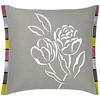 Designers Guild Pomander Embroidered Cushion, Dove