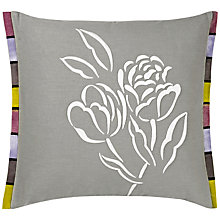 Buy Designers Guild Pomander Embroidered Cushion, Dove Online at johnlewis.com