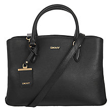 Buy DKNY Chelsea Vintage Leather Shopper Bag Online at johnlewis.com
