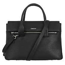 Buy DKNY Tribeca Soft Leather Satchel Online at johnlewis.com