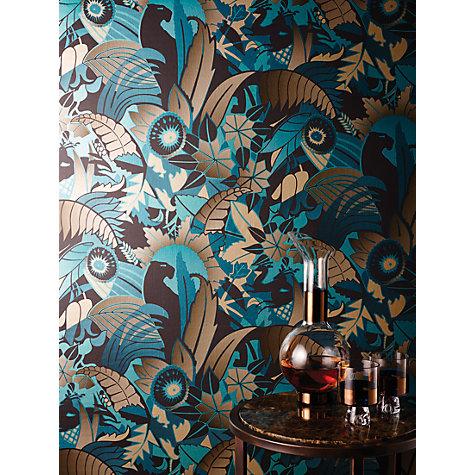 Buy osborne little fantasque wallpaper john lewis - Papier peint little green ...