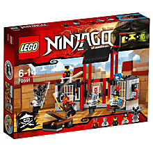 Buy LEGO Ninjago 70591 Kryptarium Prison Breakout Online at johnlewis.com