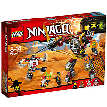 Buy LEGO Ninjago 70592 Salvage M.E.C. Online at johnlewis.com