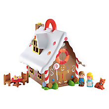 Buy Early Learning Centre Happyland Gingerbread House Online at johnlewis.com